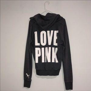 Pink Victoria's Secret Gray Pullover!